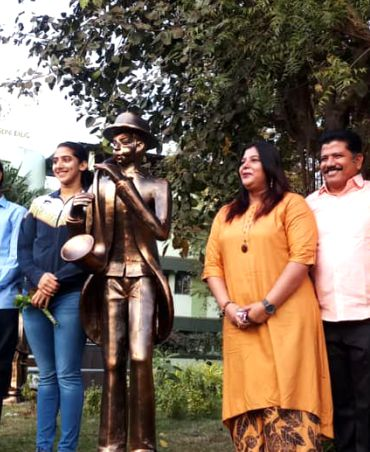Inauguration of Sculptures